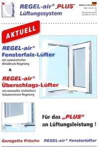 regel air kunststofffenster fensterl fter. Black Bedroom Furniture Sets. Home Design Ideas